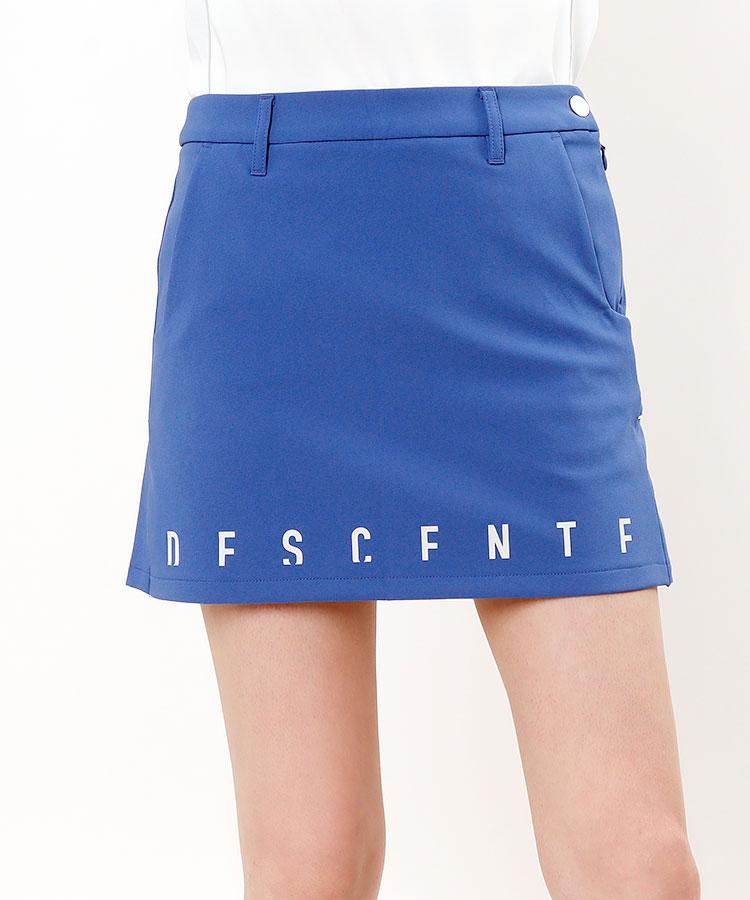 DE 保温防風♪裏起毛Backプリーツスカート