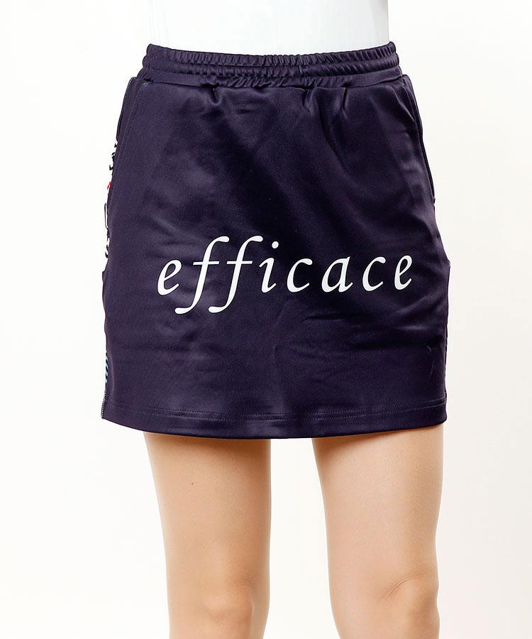 EF ピクセル柄◆裏起毛艶スカート