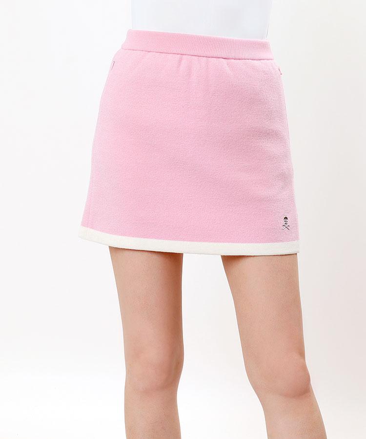 ML 裾ライン★BOXニットスカート
