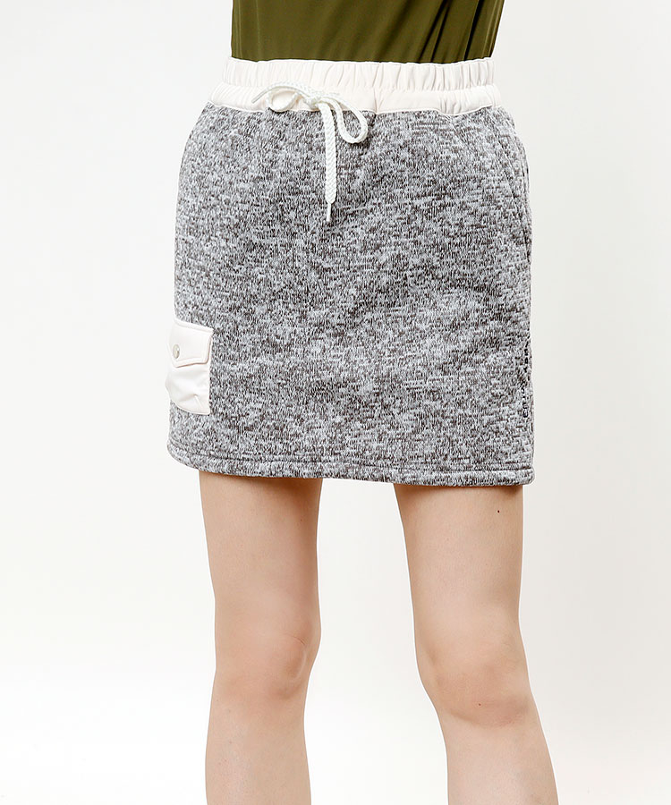 FG 裏ボアあったかニットスカート
