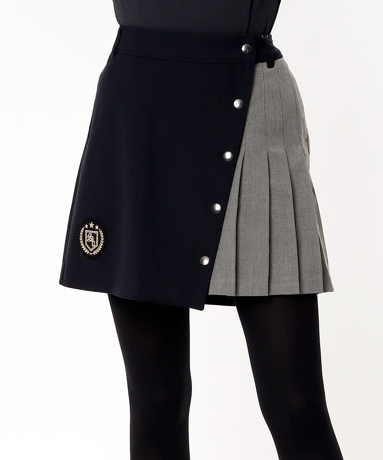 SD Sideプリーツ★ラップスカート