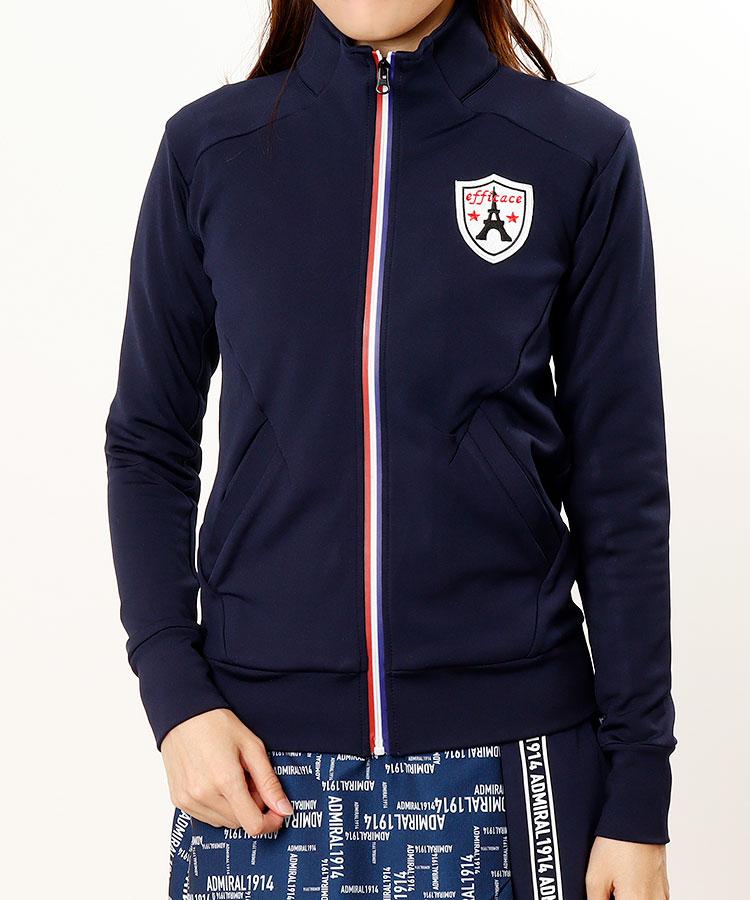 EF トリコファスナー◆ワッペン付きジャケット