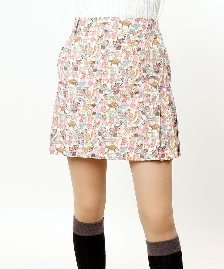 AR Libertyコラボ◆Sideプリーツスカート