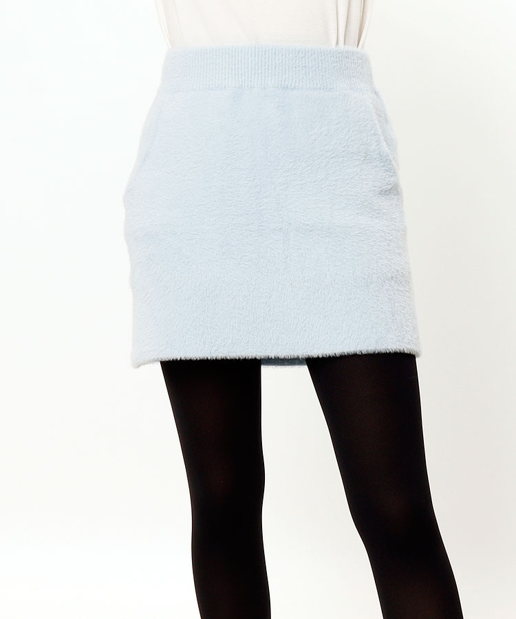 RO Simple◆フェザーニットスカート