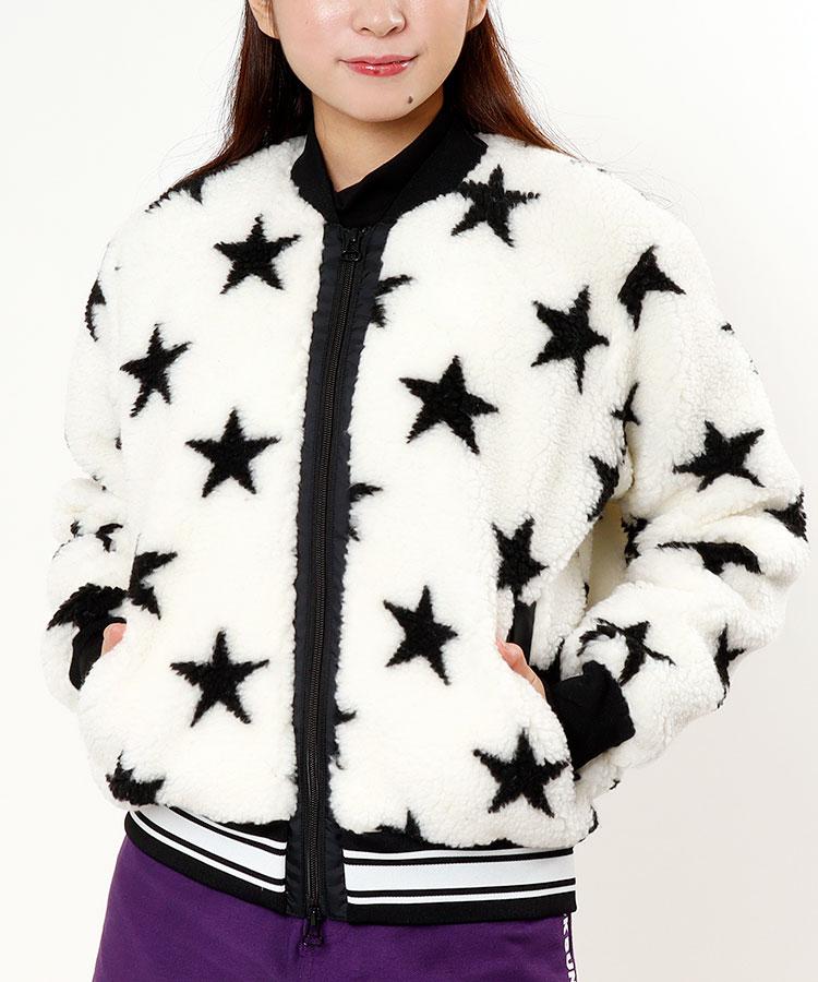 JB STAR総柄★シープボアブルゾン