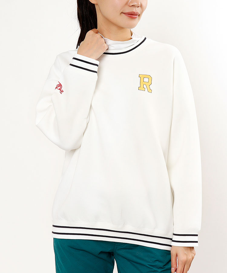 JR 【10/18まで限定タイムセール】リブLINE◆スウェットプルオーバー