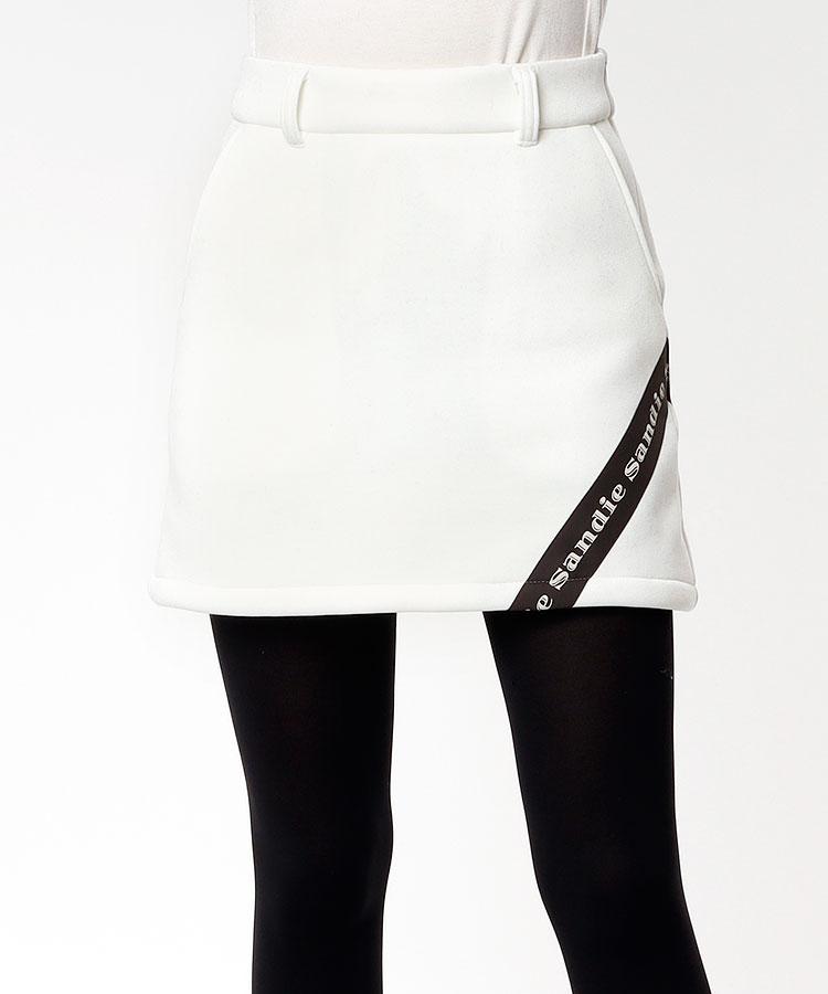 SD ロゴテープLINE◆台形スカート