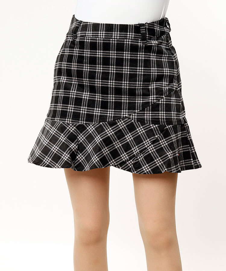 TH 選べるチェック♪裾フレアースカート