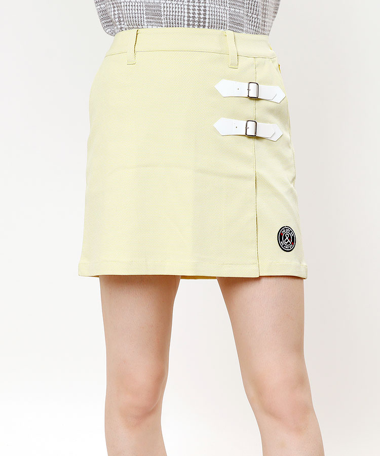 AP ダブルバックル◆ラップスカート