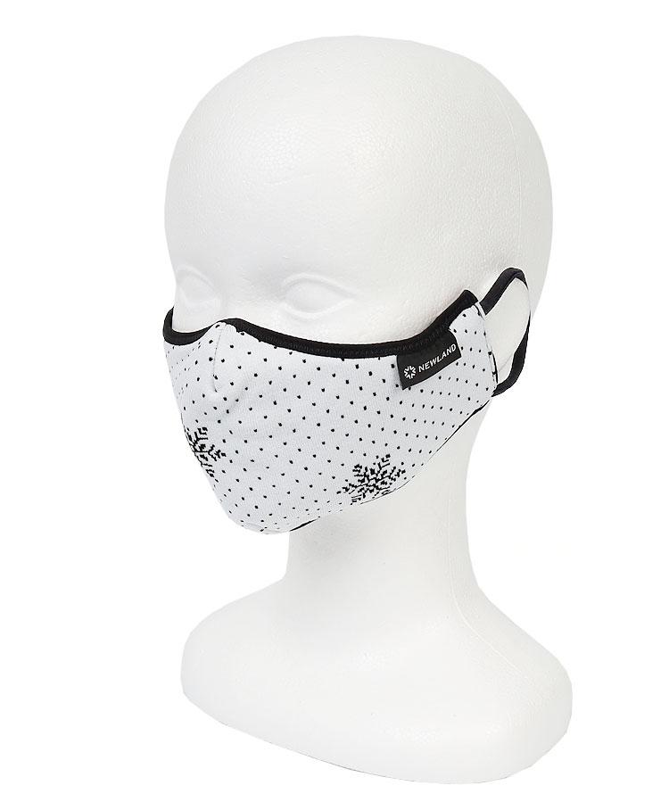 NL 雪の結晶ドット★ファッションマスク