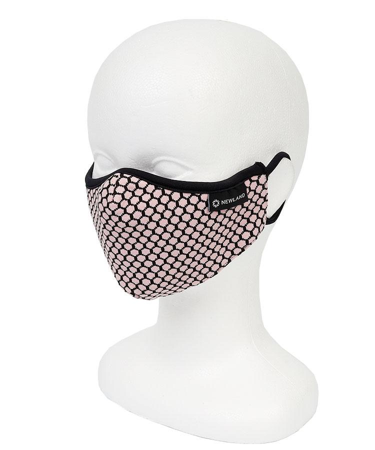 NL ハニカム柄◆ファッションマスク