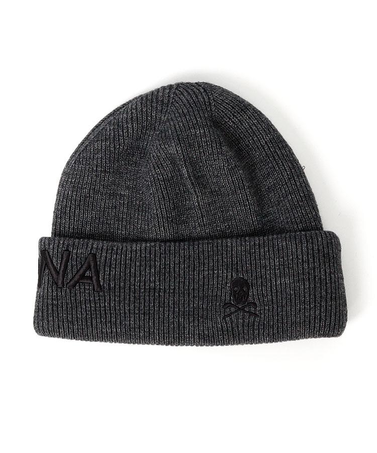 ML ロゴ刺しゅうsimpleニット帽