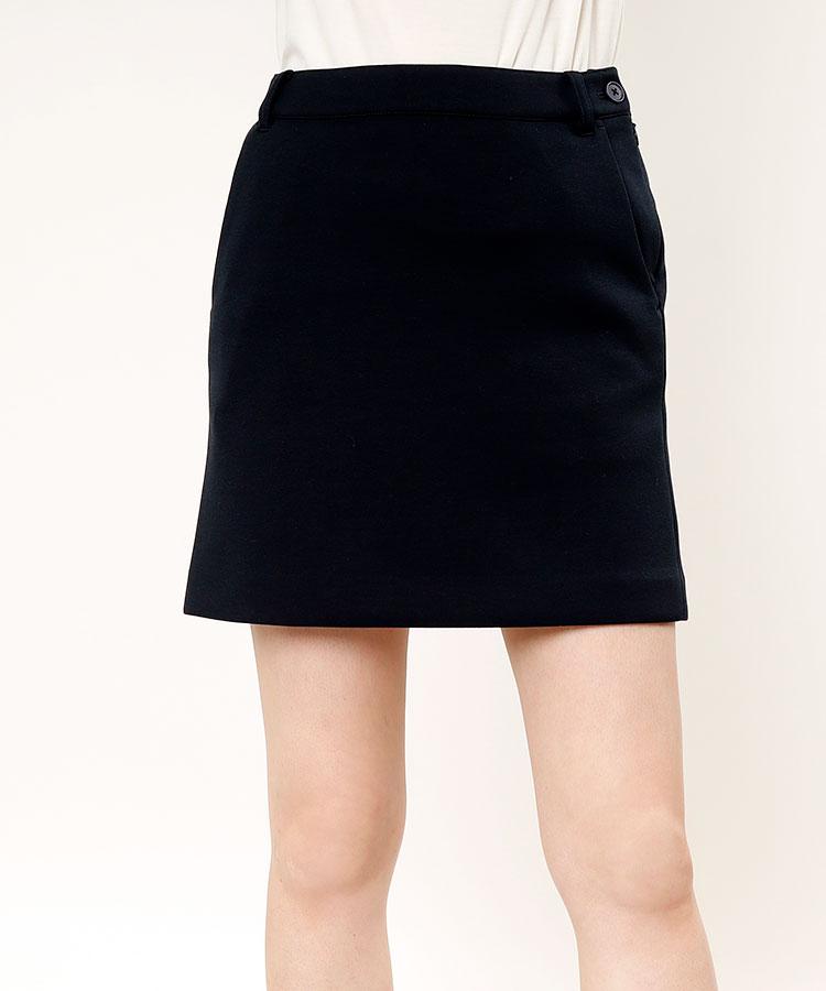 BE ダンボールニット◆BOXスカート