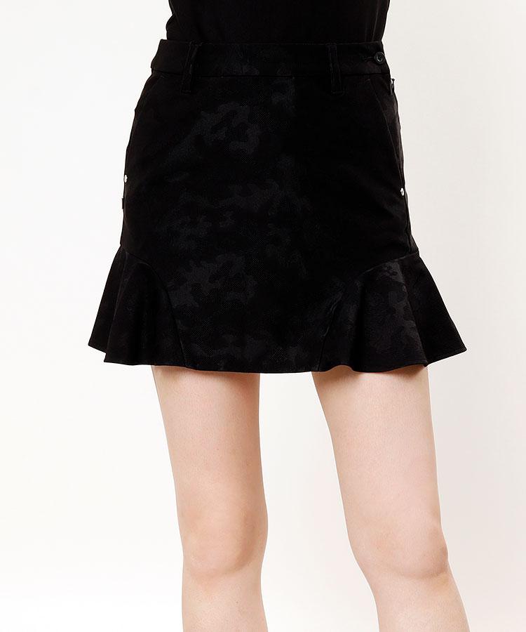 BR カモフラ柄★ペプラムスカート